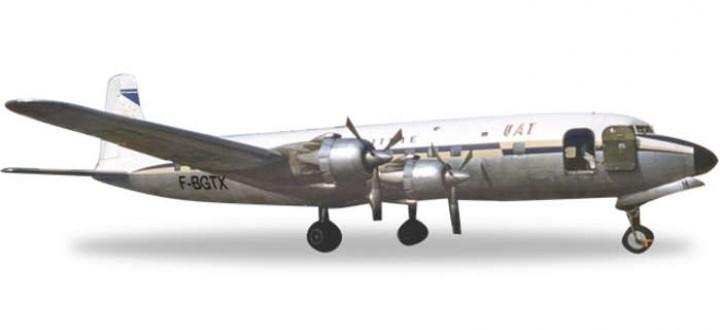 UAT DC-6B Reg# F-BGTX HE556606 Herpa 1:200