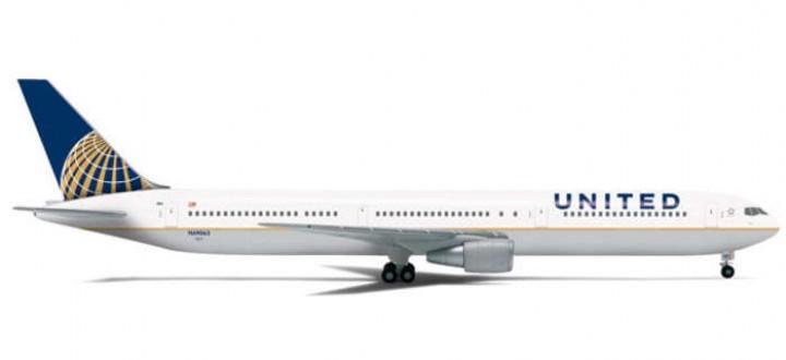 United 767-400 Reg# N69063 HE562416 1:400