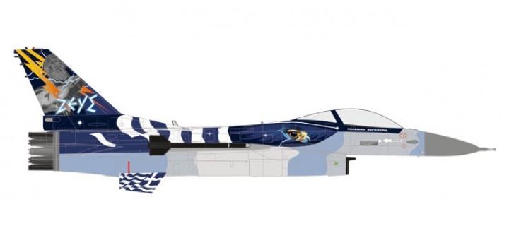 Hellenic Air Force F-16C 52 Zeus Demo Team Aleppou Soúda AB Herpa 580380 scale 1:72