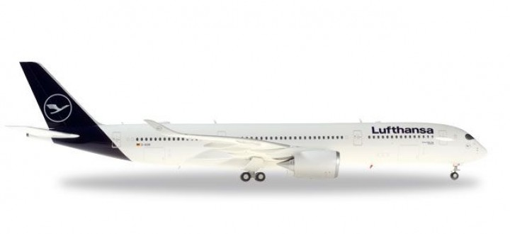 Lufthansa Airbus A350-900 New Livery D-AIXM Herpa 559577 scale 1:200