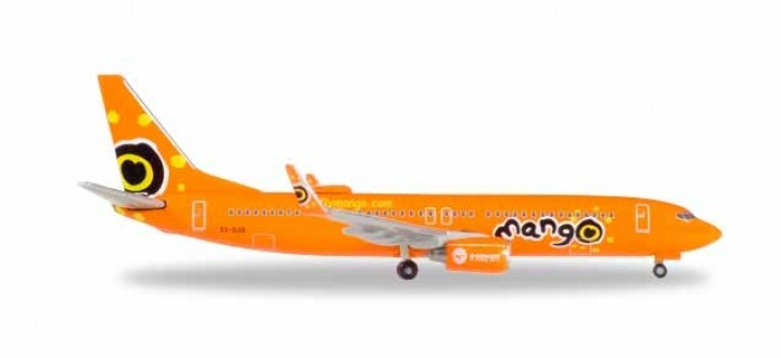 Mango South Africa Boeing 737-800 ZS-SJO Herpa Wings 531351 scale 1:500