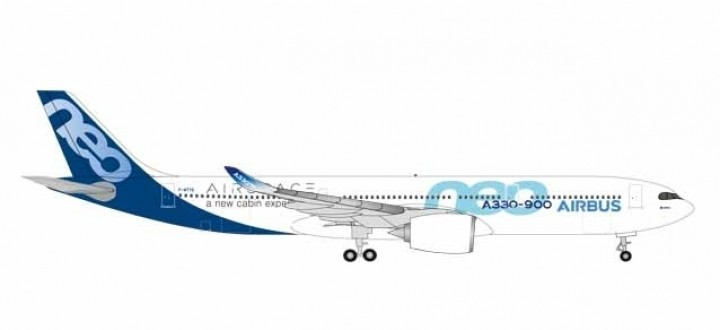 New Mould! F-WTTE Airbus House A330-900 neo Herpa 531191 scale 1:500