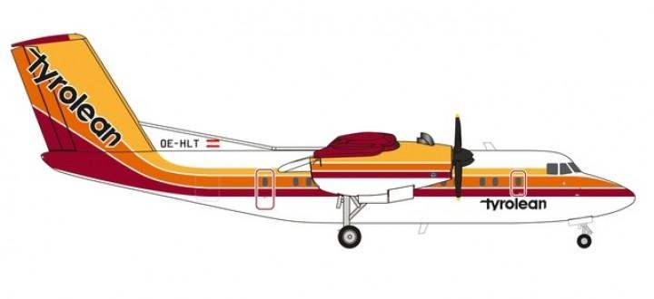 Tyrolean Airways De Havilland DHC-7 Dash 7 DHC-7 OE-HLT Herpa 559553 Scale 1:200