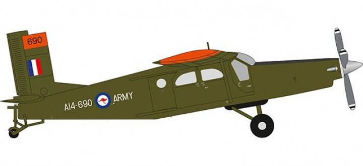 Royal Australian Army Aviation Pilatus PC-6 Turbo Porter Herpa 580449 scale 1:72