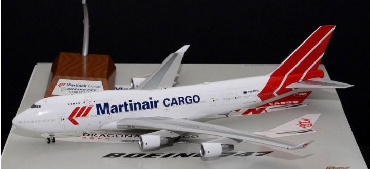 rgo Boeing 747-400 Reg# PH-MPS die-cast JF-747-4-042 JFox-Inflight Scale 1:200