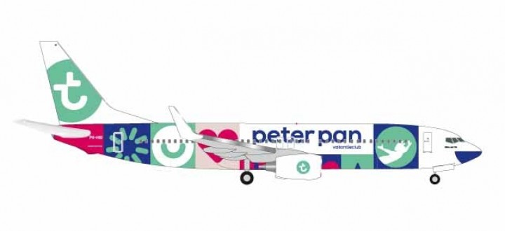 Transavia Boeing 737-800 Peter Pan PH-HSI Herpa Wings 531399 scale 1:500