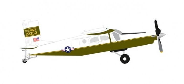 US Army Pilatus UV-20A (PC-6) Chiricahua Berlin 1981 Herpa 580472 scale 1:72