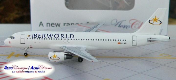 Iberworld Airlines A320 EC-IMU Scale 1:400