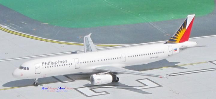 Philippines Airbus A321 Reg# RPC-9902 Aero Classics Scale 1:400
