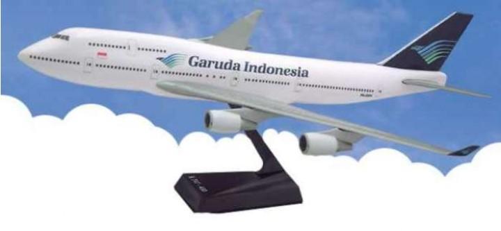 Flight Miniatures Garuda Indonesia Boeing B747