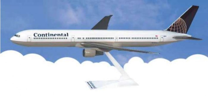 Flight Miniatures Continental Airlines Boeing B767