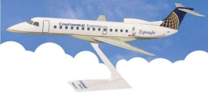 Flight Miniatures Continental Airlines ERJ-135