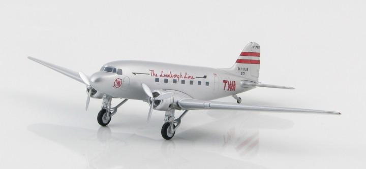 "WA Douglas DC-3, TWA 1938 Reg# ""NC 17323"" Hobby Master HL1303"