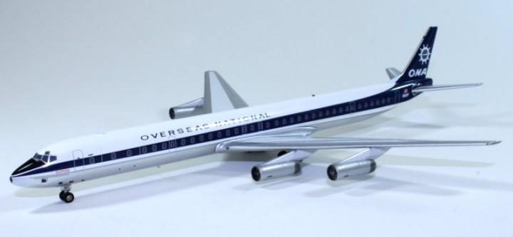ONA Overseas National Airways DC-8-63 N865F  1:200 Scale