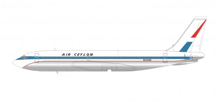 Air Ceylin Boeing B720 Registration N64696 SMA AC2-720A-K2-01 Scale 1:200