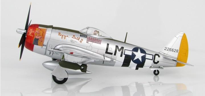 P-47D Thunderbolt Capt. F Christensen England 1944 HA8412 Scale 1:48
