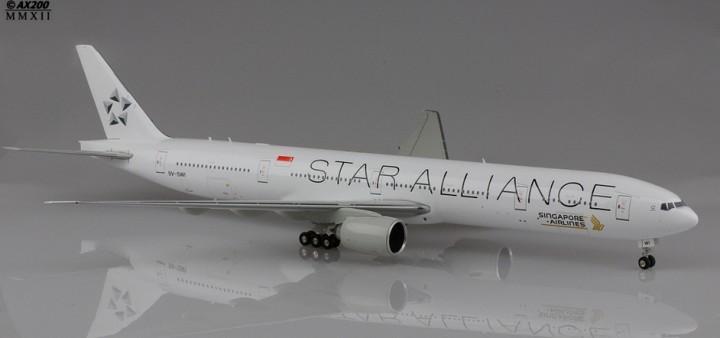 Singapore Airlines B777-300ER 9V-SWI Star Alliance  1:200 JCWings