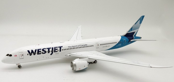 WestJet Boeing 787-9 C-GUDH new livery stand Inflight IF789WS0219 scale 1:200