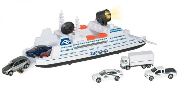 BC Ferry w/ Three Vehicles RT36838-BC