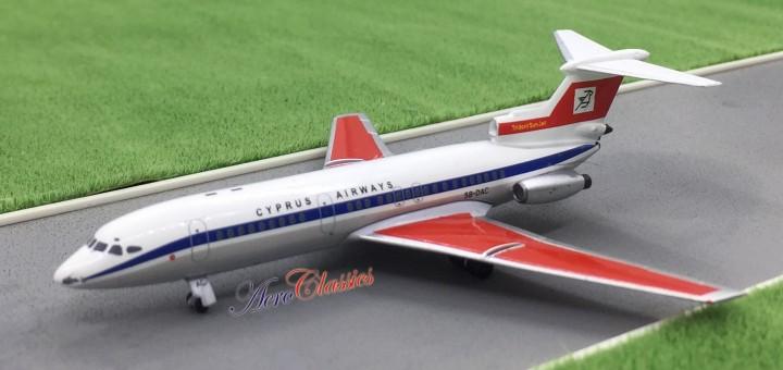 Cyprus Airways Trident Reg# 5B-DAC Aeroclassics Die cast Scale 1:400
