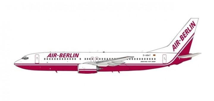Air Berlin Boeing 737-86J D-ABAT InFlight/JFox JF-737-8-007 scale 1:200