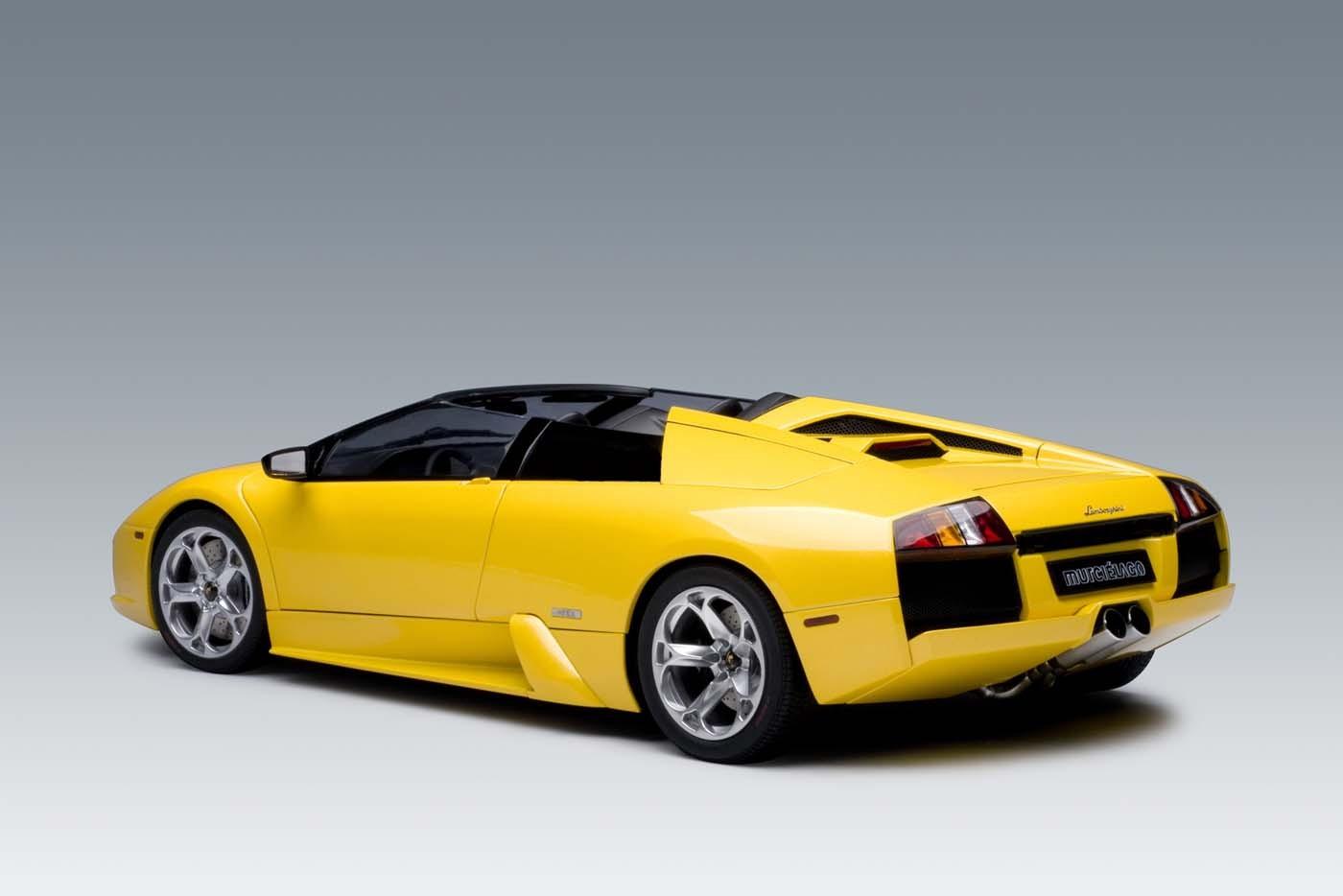 Autoart Die Cast Model Metalic Yellow Lamborghini Murcielago