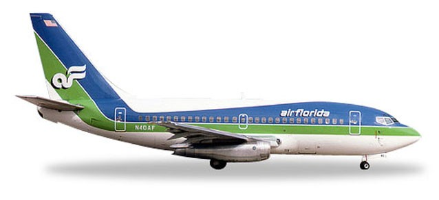 Herpa Wings 1:500 Boeing 737-100 Air Florida 528740