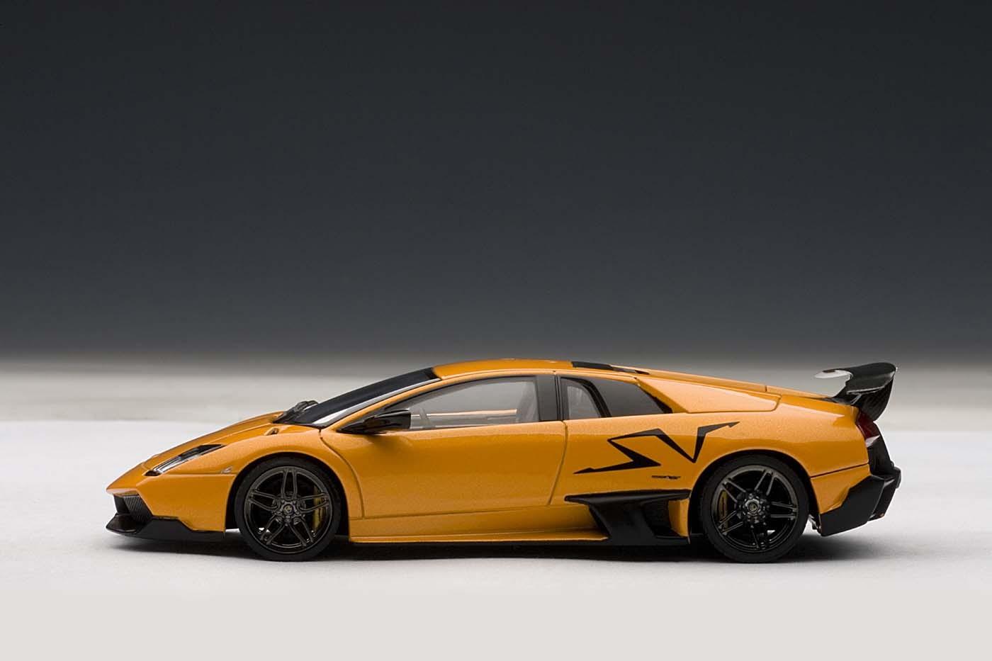 Highly Detailed Autoart Orange Lamborghini Murcielago Lp670 4 Sv Autoart 54627 Die Cast Model Scale 1 43 Arancio Atlas Eztoys Diecast Models And Collectibles