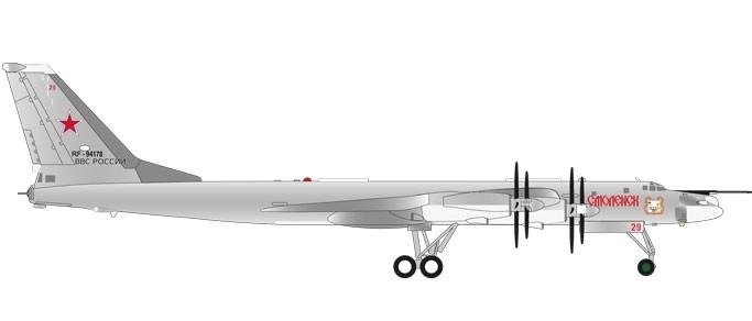 Russian Air Force Tu 95ms Смоленск Er Rf 94178 29 Red