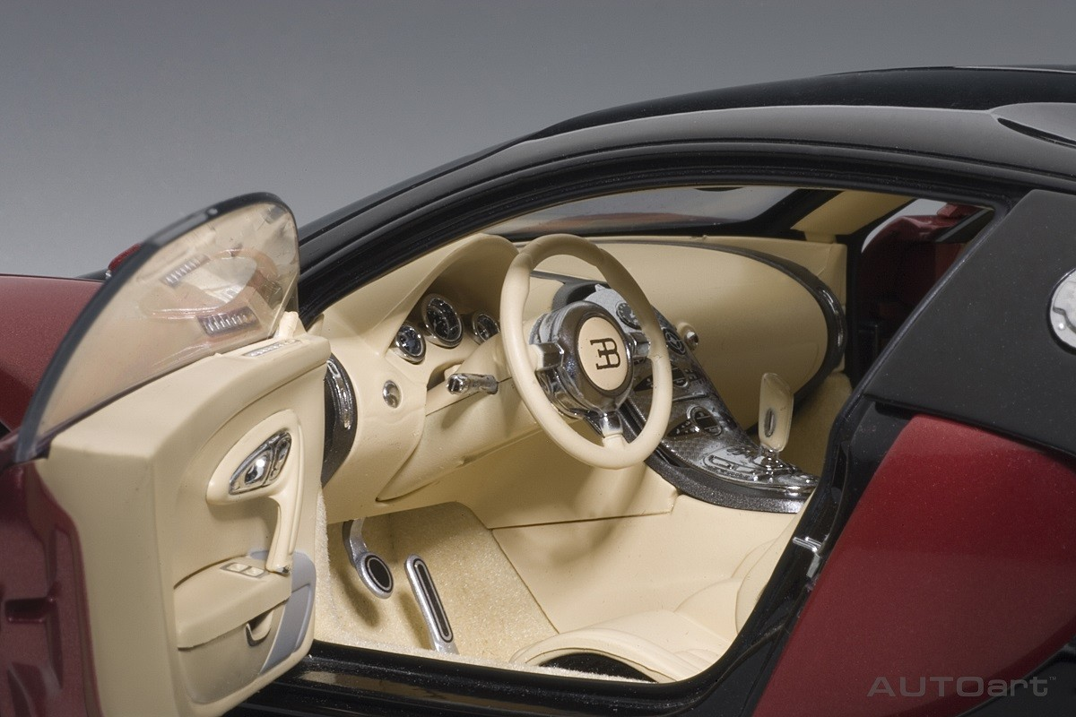 red black bugatti eb 16 4 veyron production car beige interior limited production 1200 pcs. Black Bedroom Furniture Sets. Home Design Ideas
