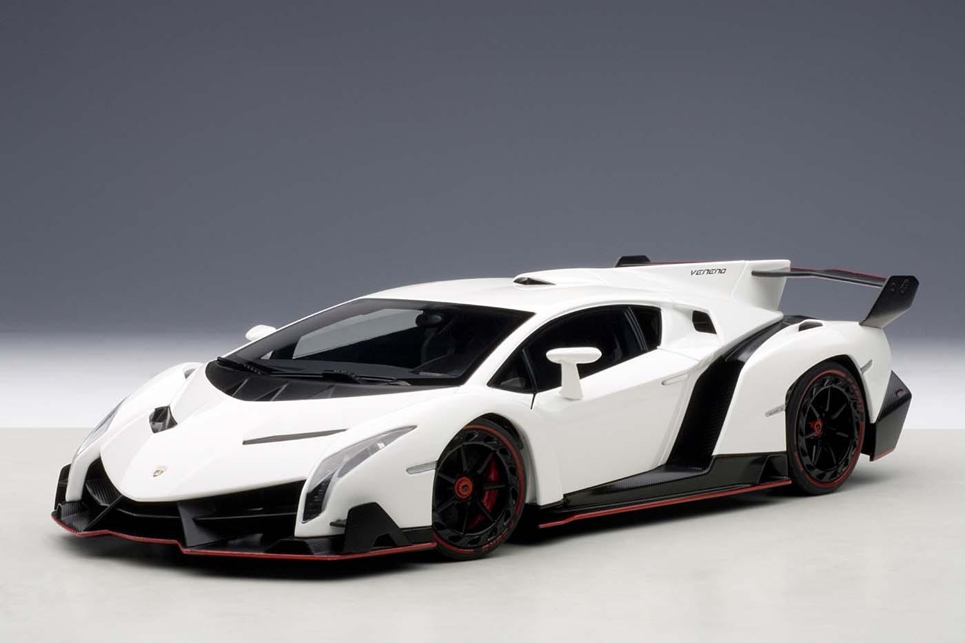 Autoart Highly Detailed Die Cast Model White Lamborghini