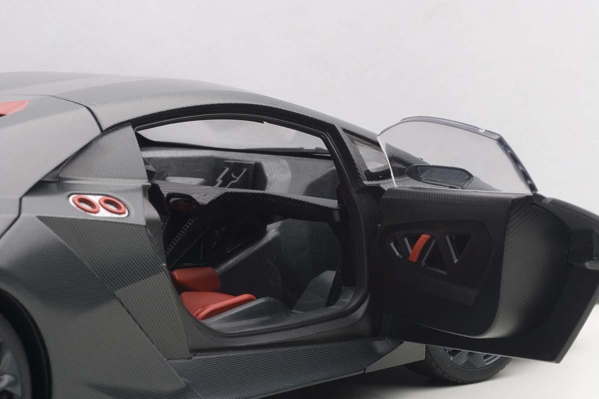 Autoart Die Cast Model Lamborghini Sesto Elemento Grey Carbon Fiber