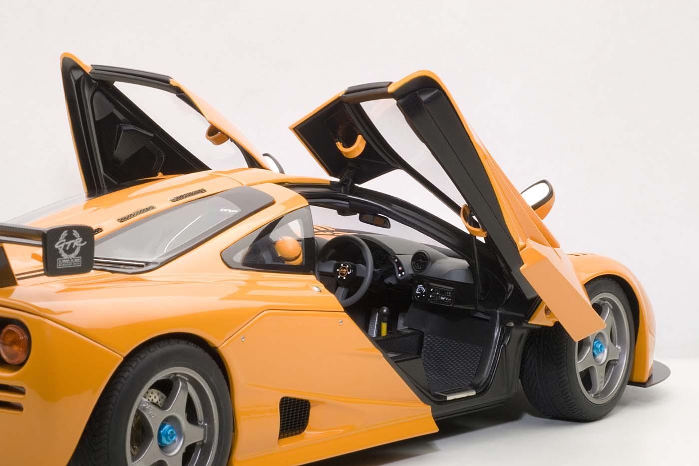 autoart die-cast model mclaren f1 lm edition historic orange 76011