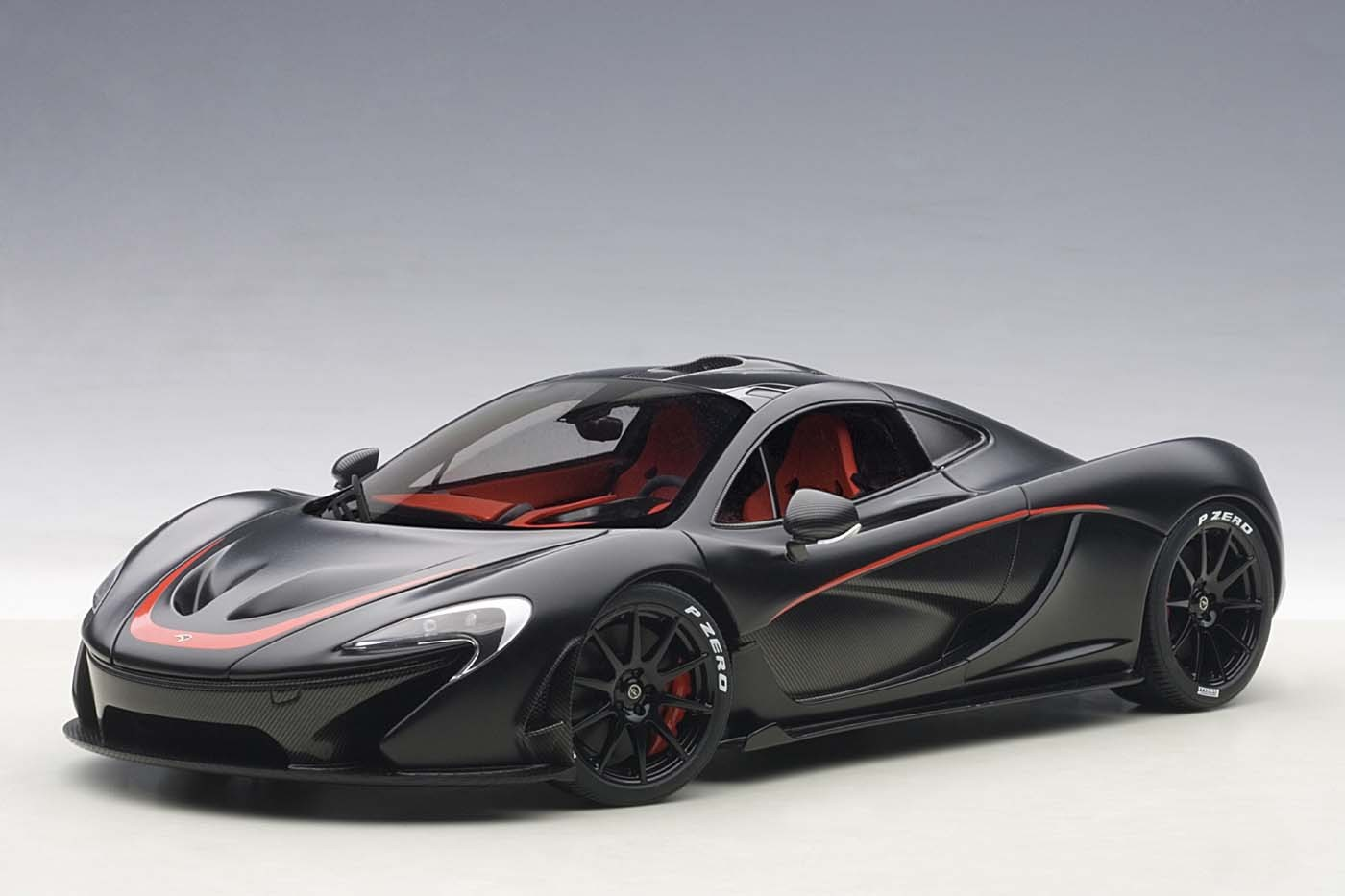 Highly detailed AUTOart diecast model car McLaren P1 Matt ...