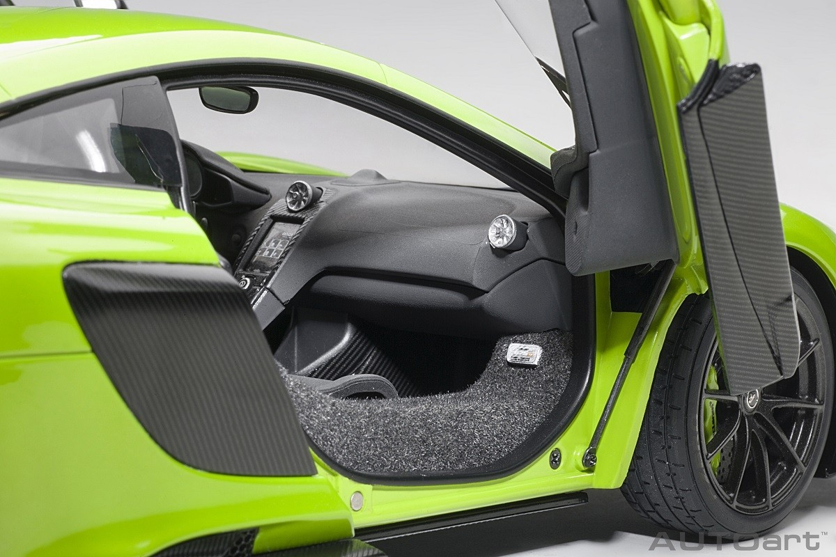 Autoart 2016 McLAREN 675LT NAPIER GREEN in 1//18 Scale New Release!
