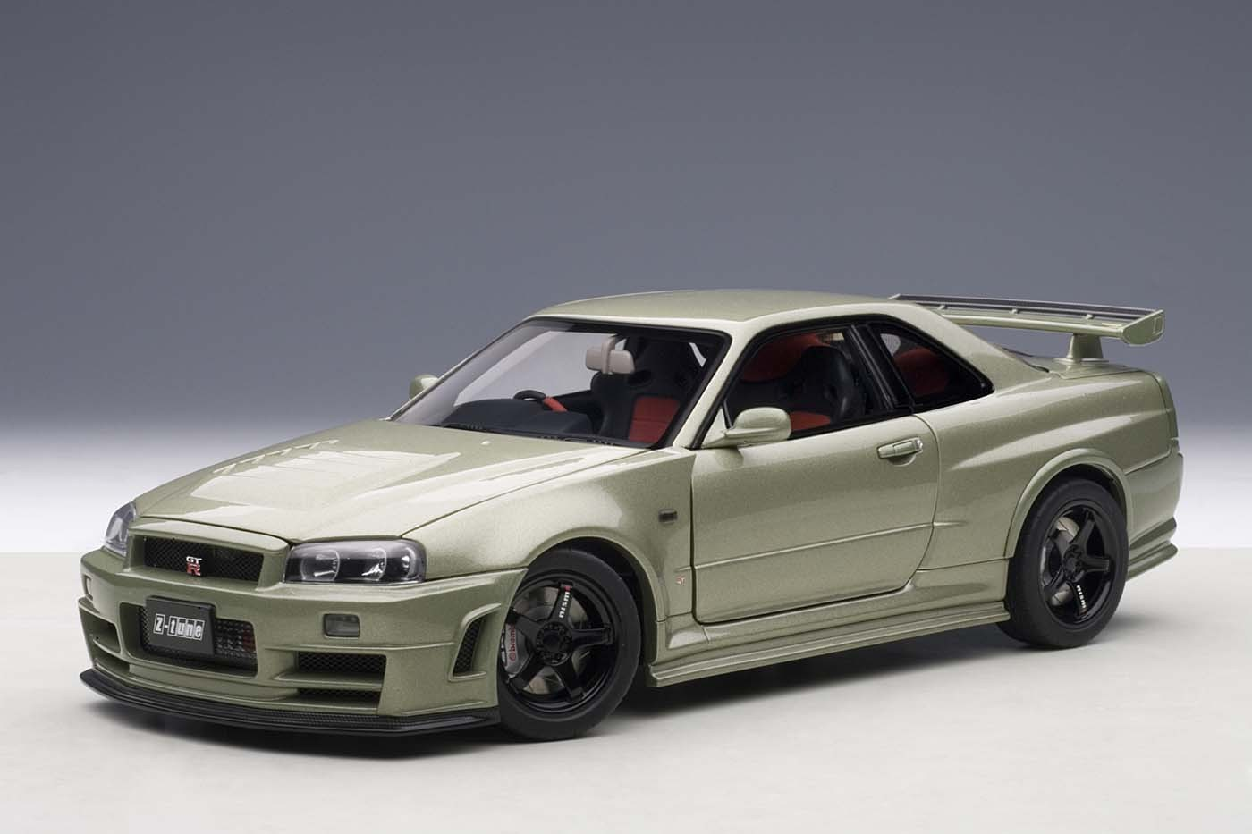 Autoart Die Cast Model Nissan R34 Gt R Z Tune Skyline Millennium Jade Green 77353 Limited To 1000 Pieces World Wide Die Cast Model In 1 18 Scale Item Au77353 Eztoys Diecast Models And Collectibles