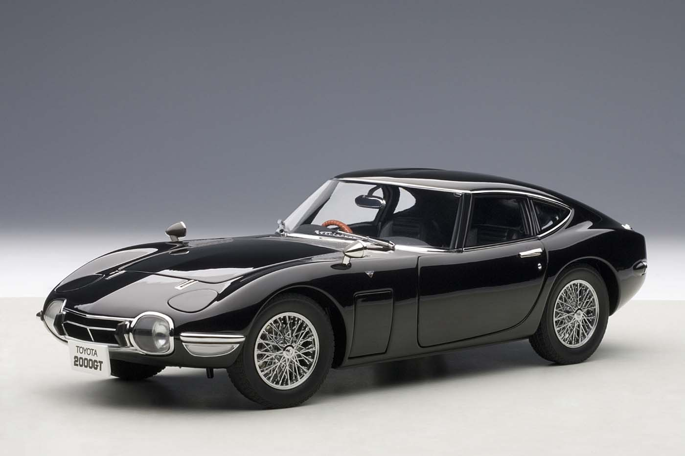 AUTOart die-cast model Toyota 2000 GT Upgraded Coupe Black ...