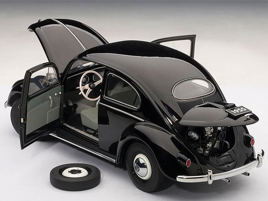 Autoart 1 18 Scale Volkswagen Beetle Kaefer Limousine 1955