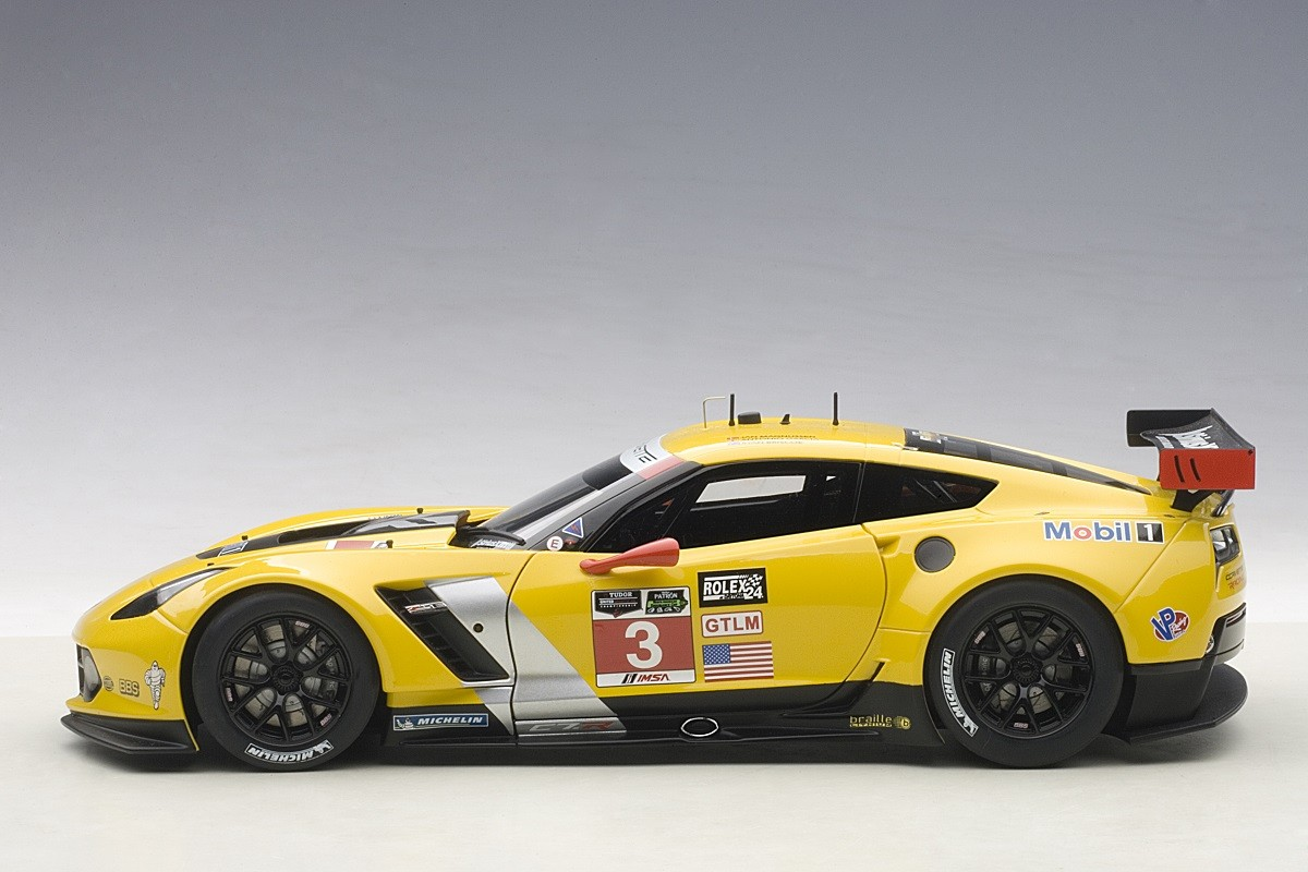 Z06 Corvette For Sale >> Highly detailed AUTOart Corvette C7R 24hrs Daytona GTLM ...