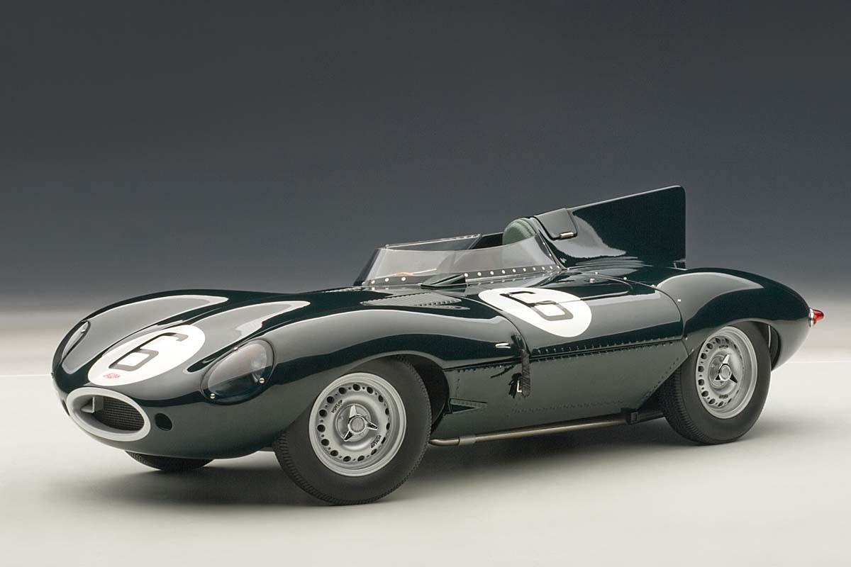AUTOart Die Cast Jaguar D Type Lemans 24HR Race 1955
