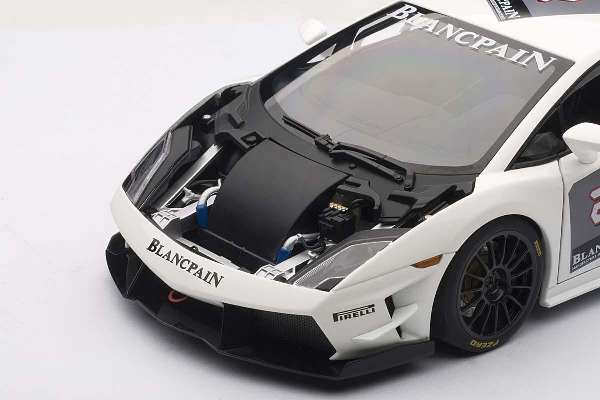 Lamborghini Gallardo LP560,4 Super Trofeo, White/Blancpain 2