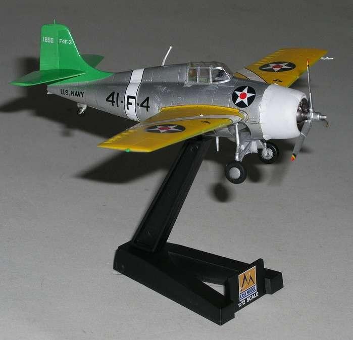 F4F-4 W ildcat EM37247 VF-41 USS Ranger 1941 - Easy Model 1:72