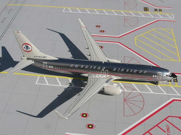 Gemini Jets American 737 800 Retro Livery Diecast Model
