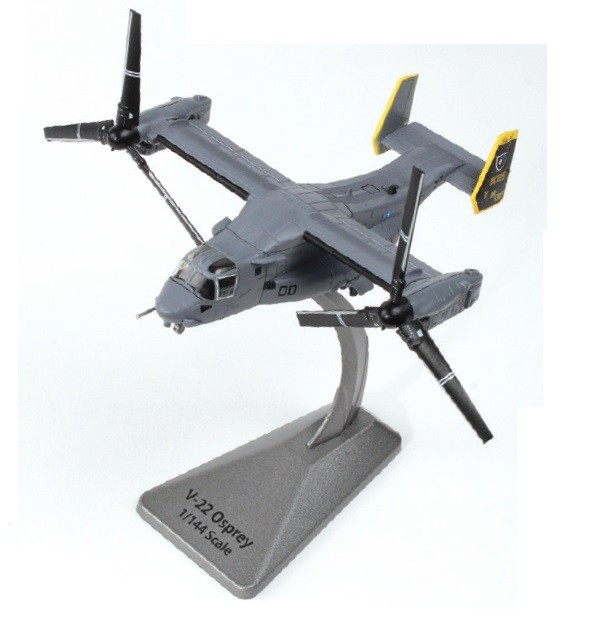 V-22 Osprey White Knights AF1-0140 W/Stand Air Force 1 Smithsonian Series  Scale 1:144