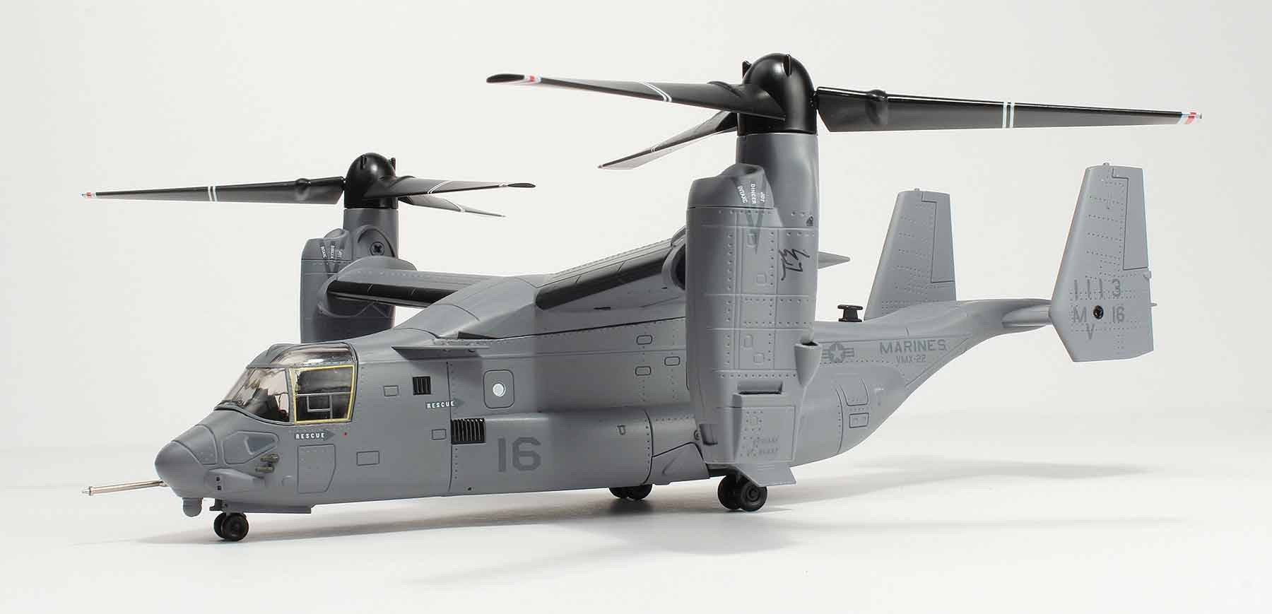 Marines Bell Boeing V-22 Osprey Turboprop W/stand AF1-00010 1:72