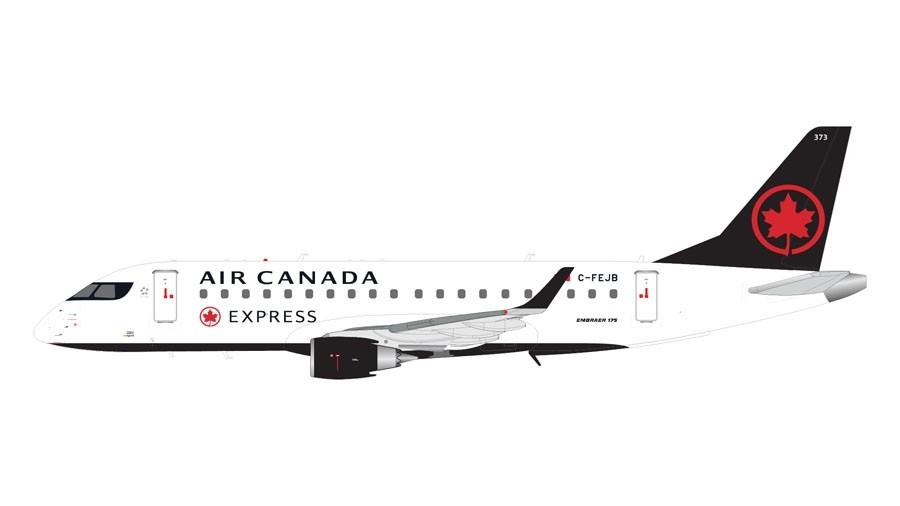White Gemini200 United Express ERJ-175 E175 N163SY 1:200 Scale Model Airplane