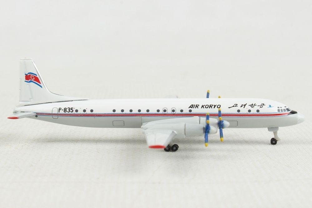 Herpa Wings 1:500  Ilyushin IL-18  Berline D-AOAO  526227  Modellairport500