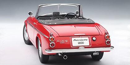 Nissan Fairlady Z >> Red Datson Fairlady 2000 (SR311) 1959 AUTOart 77431 Scale ...