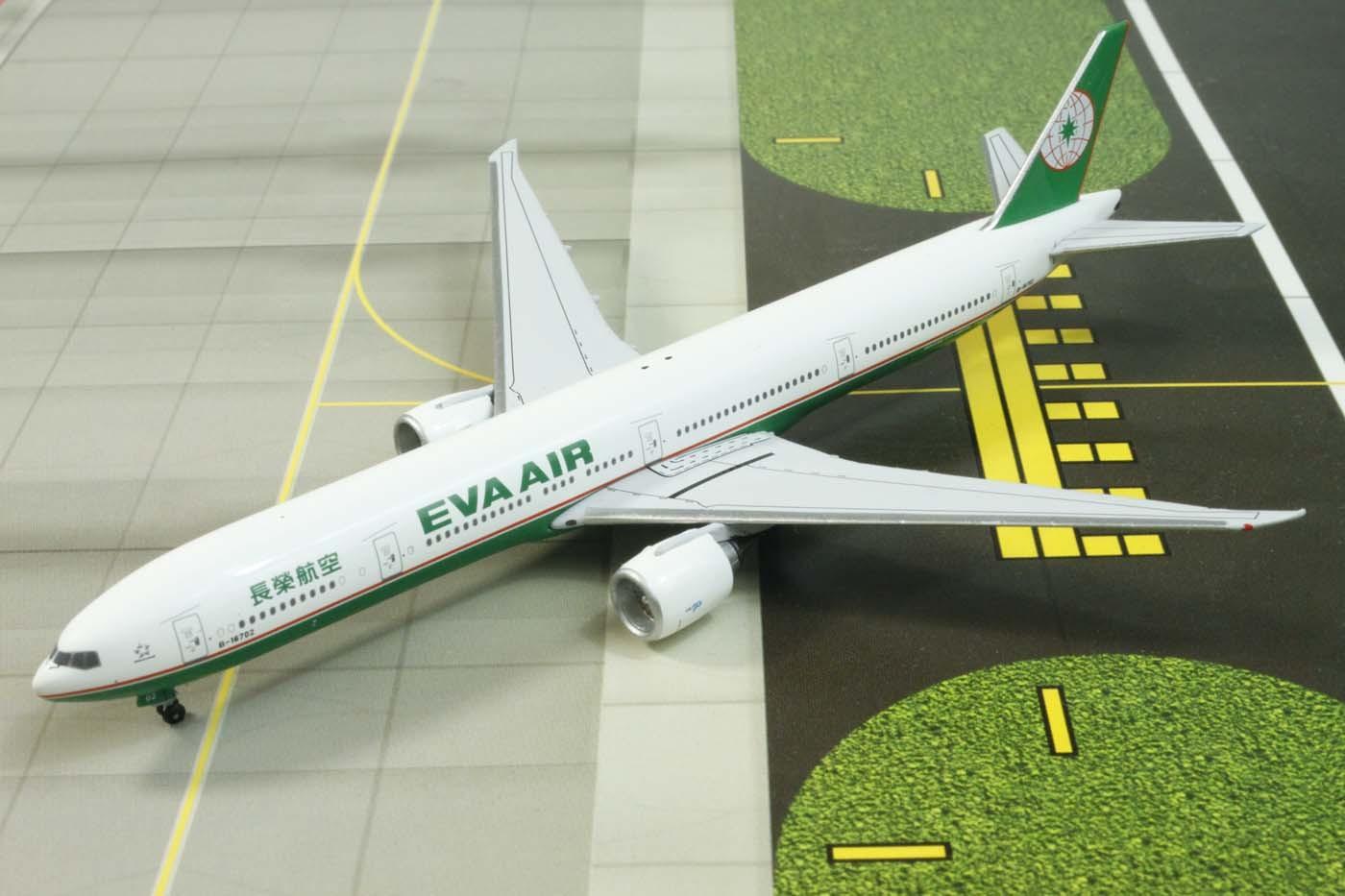 601cbbea3 Highly detailed Aero Classic diecast airplanes EVA Air Boeing 777 ...