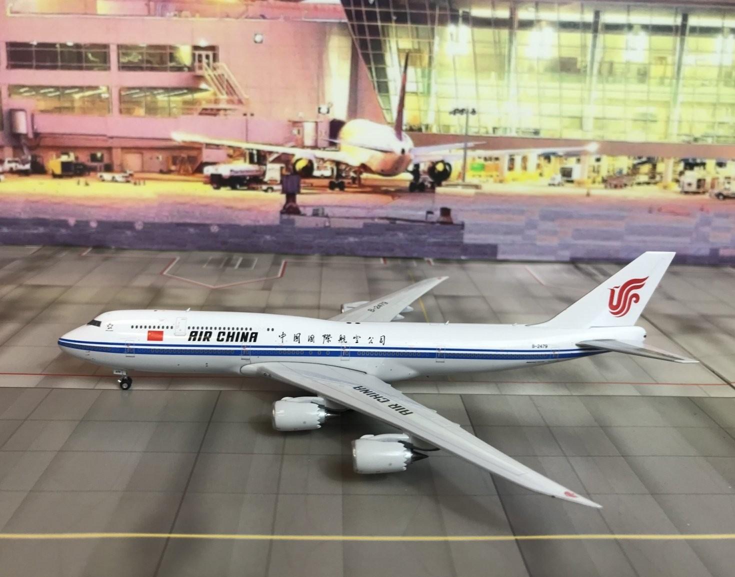 Air China AirFroce 1 Boeing 747-8i Reg B-2479 Phoenix Model 11424 Scale